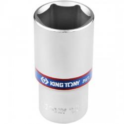 Soquete Estriado Longo 30 mm com Encaixe de 1/2 Pol. - KING TONY-423030