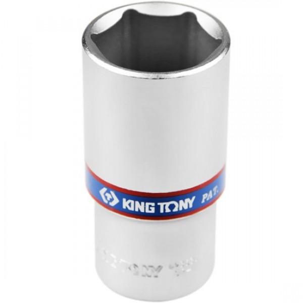 Soquete Estriado Longo 32 mm com Encaixe de 1/2 Pol. - KING TONY-423032