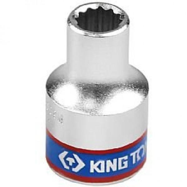Soquete Estriado 10 mm com Encaixe 1/2 Pol. - KINGTONY-433010