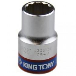 Soquete Estriado de 13 mm com Encaixe 1/2 Pol. - KINGTONY-433013