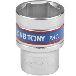Soquete Sextavado Curto de 1/2 Pol. - 21 mm - KINGTONY-433521
