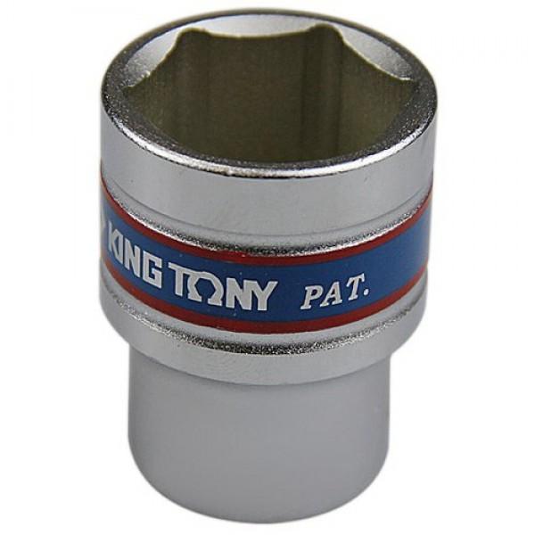 Soquete Sextavado Curto de 1/2 Pol. - 26 mm - KINGTONY-433526
