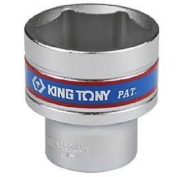Soquete Sextavado Curto de 1/2 Pol. - 32 mm - KINGTONY-433532