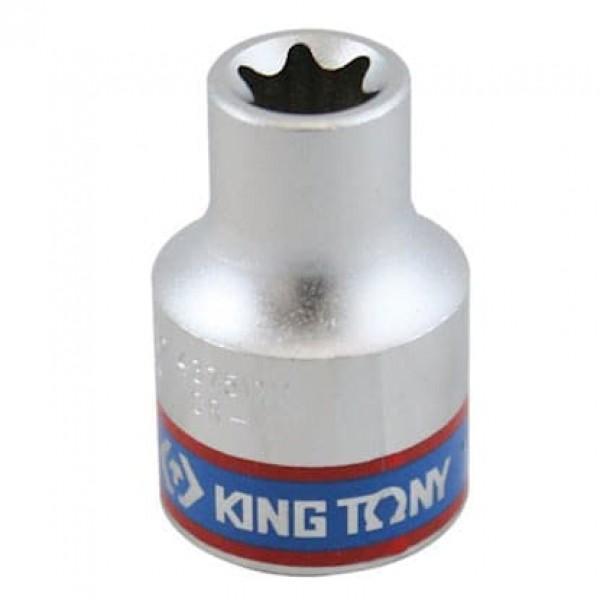 Soquete Tipo Torx E10 - 1/2 - 437510M - King Tony