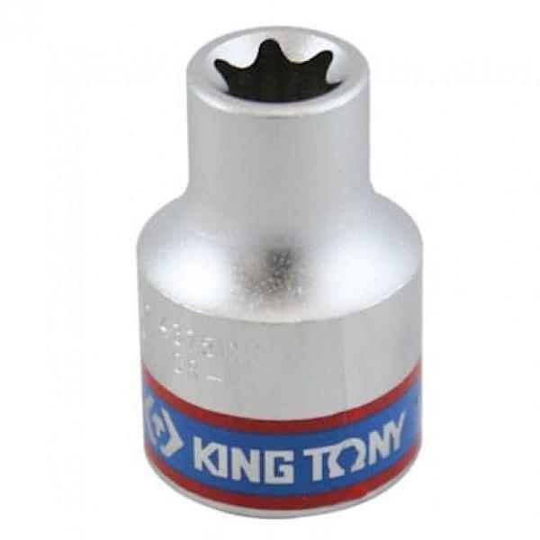 Soquete Tipo Torx E12 - 1/2 - 437512M - King Tony