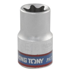 Soquete Tipo Torx E18 - 1/2 - 437518M - King Tony