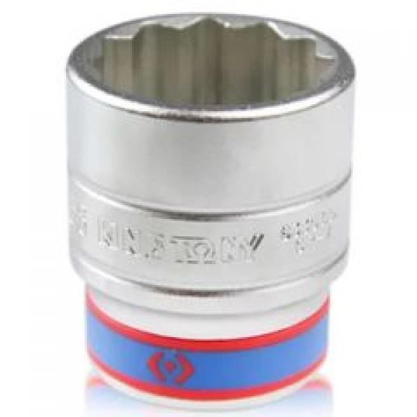 Soquete Estriado 32 mm com Encaixe de 3/4 Pol. - KING TONY-633032
