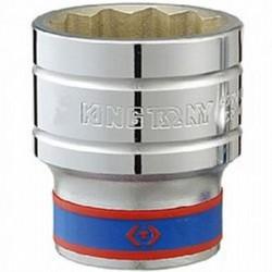 Soquete Estriado 36 mm com Encaixe de 3/4 Pol. - KING TONY-633036
