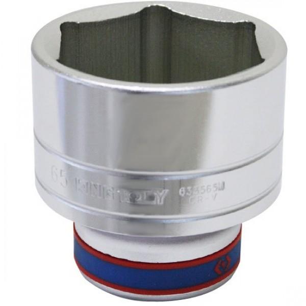 Soquete Estriado 65 mm com Encaixe de 3/4 Pol. - KING TONY-633065