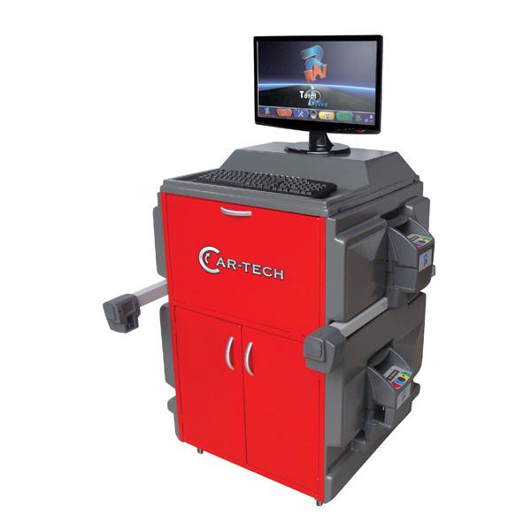 Alinhador de Direção Computadorizado com 6 Sensores 4 Cabeças - CT5060 - Cartech