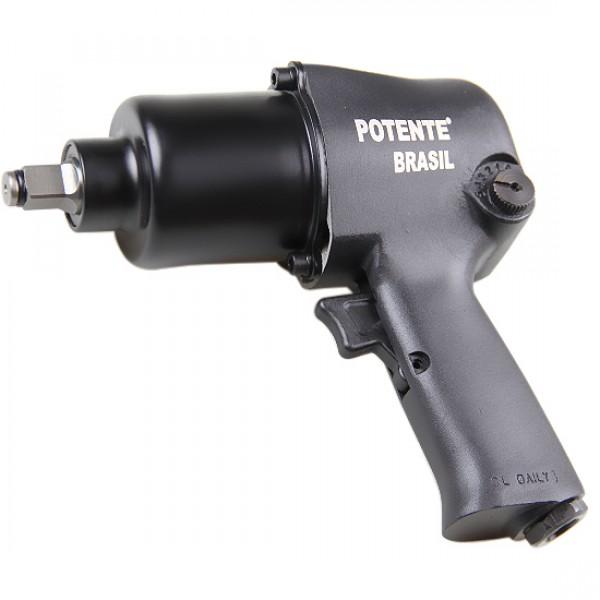 Chave de Impacto Pneumática com Encaixe de 1/2 Pol 660 Nm - 120178 - Potente Brasil